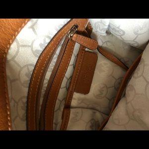 Michael Kors Bags - Michael Kors Large Brown Hamilton Purse